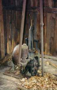 The pump from the Coles Tankhouse