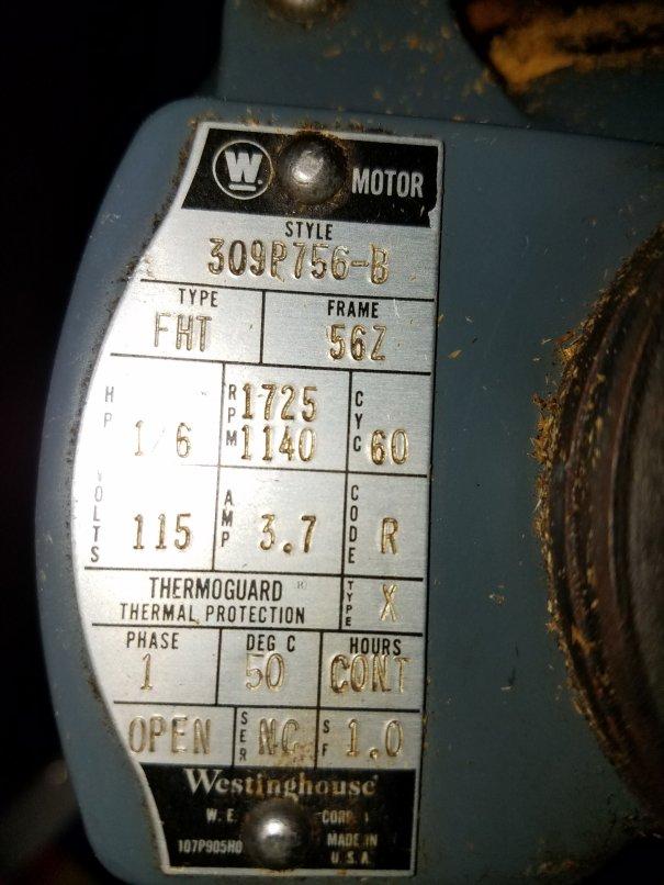 Westinghouse single phase motor on wood lathe - Switching Direction on
